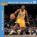 Turner Licensing® Denver Nuggets 2014 Team Wall Calendar, 12in. x 12in.