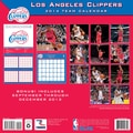 Turner Licensing® Los Angeles Clippers 2014 Team Wall Calendar, 12in. x 12in.