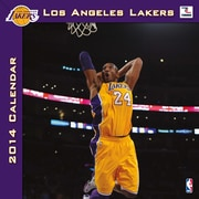 Turner Licensing® Los Angeles Lakers 2014 Team Wall Calendar, 12 x 12