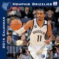 Turner Licensing® Memphis Grizzlies 2014 Team Wall Calendar, 12in. x 12in.