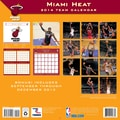 Turner Licensing® Miami Heat 2014 Team Wall Calendar, 12in. x 12in.