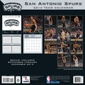 Turner Licensing® San Antonio Spurs 2014 Team Wall Calendar, 12in. x 12in.