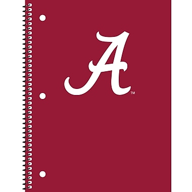 Turner Licensing® Alabama Crimson Tide Notebooks, 10 1/2in. x 5in.