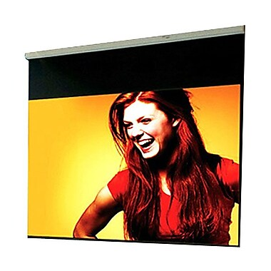 Draper ® Luma 207052 Manual Wall/Ceiling Projection Screen, 100