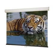 "Draper® 206171 94"" Luma 2 Manual Projection Screen, 16:10, White Casing"