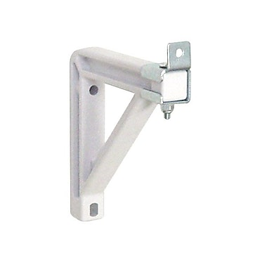 Draper® 227222 6in. Non-Adjustable V Screen Wall Bracket, White