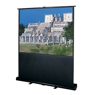Da-Lite® 83315 60in. Deluxe Insta-Theater Portable Projection Screen, 4:3, Matte White