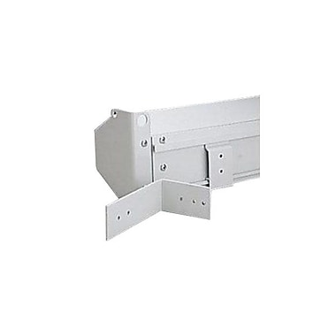 Da-Lite® Floating Mounting Bracket, White
