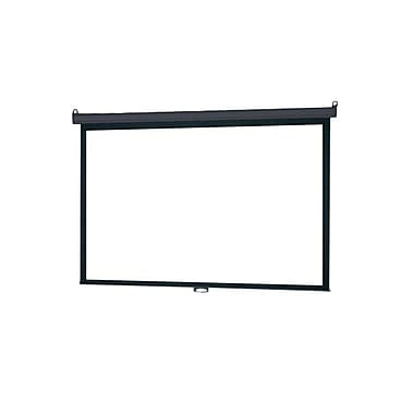 Infocus® SC-PDW-109 109in. Manual Pull Down Wall and Ceiling Projector Screen, 16:10