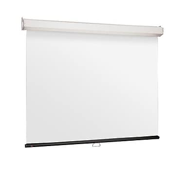 Draper® 206014 120in. Luma 2 Manual Projection Screen, 4:3, White Casing