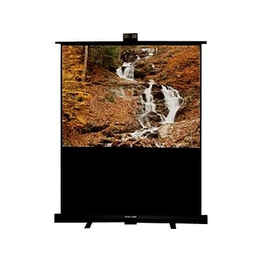 Draper® 230163 84in. Piper Portable Projection Screen, 4:3, White Casing