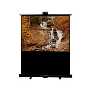 Draper® 230163 84 Piper Portable Projection Screen, 4:3, White Casing