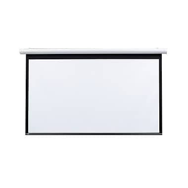 Draper® 136104 106in. Salara Plug & Play Electric Screen, 16:9, White Casing