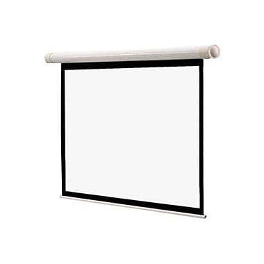 Draper® 137007 84in. Salara M Manual Wall and Ceiling Projection Screen, 4:3, White Casing