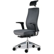 Jesper Office Trina Mesh Executive Office Chair; Grey