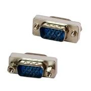 4XEM™ Male to Male VGA Adapter, Silver/Yellow