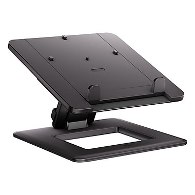 HP® Smart Buy Dual Hinge Notebook Stand, 14.2in.(H) x 8.7in.(W) x 11.8in.(D), Black