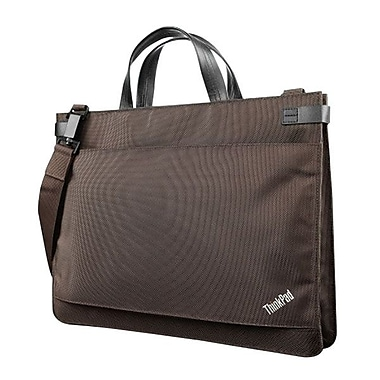 Lenovo® Carrying Case For 12.5in. Ultrabook, Tablet PC, Chocolate/Black