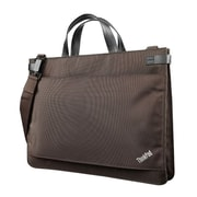 Lenovo® Carrying Case For 12.5 Ultrabook, Tablet PC, Chocolate/Black