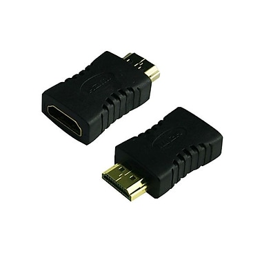 4XEM™ HDMI A Male To HDMI A Female Adapter, Black