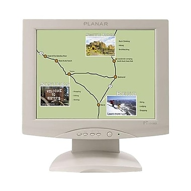 Planar® PT1510MX 15in. Resistive Touch LCD Monitor, White