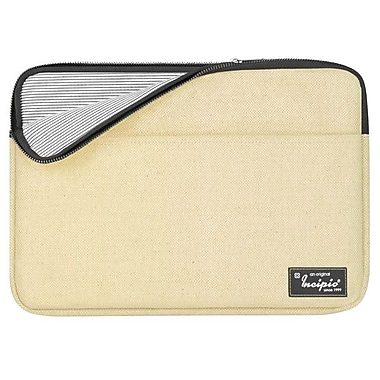 Incipio® Rickhouse 13in. Padded Burlap Sleeve For MacBook Pro, Natural