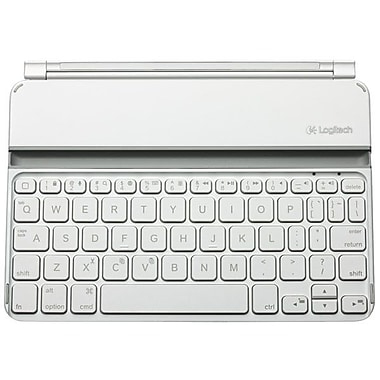 Logitech® 920-005106 Ultrathin Keyboard Cover For iPad Mini, White