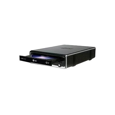 LG GE24NU40 Super Multi External 24X USB 2.0 DVD Rewriter With M-Disc™ Support, Black