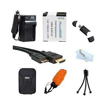 Accessory Kit For Panasonic Lumix DMC-TS5