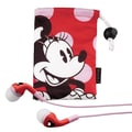 iHome™ Disney Minnie Mouse Noise Isolating Earphones With Pouch