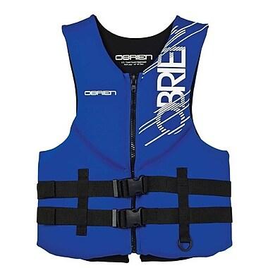 O Brein Men's Traditional Neoprene Medium Vest, 2131855, Blue