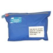 "Ro-el Tamper-Evident Flat Style Courier Bag, 12"" x 16"", Royal Blue"