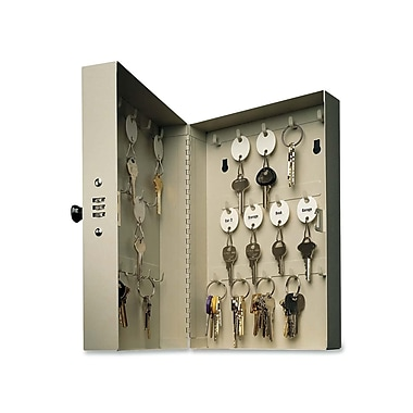 MMF Hook Style 28-Key Security Lock Cabinet, 7-4/5
