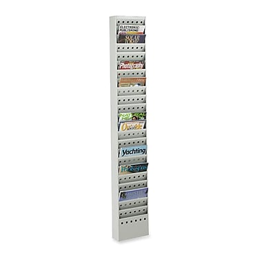 Safco 23-Pocket Magazine Rack, 65-1/2