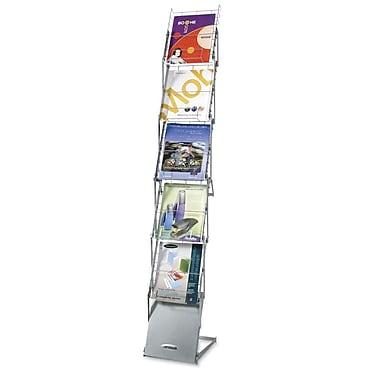 Apollo Show-It 5-Compartment Folding Literature Rack, 64-1/2