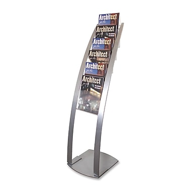 Deflect-o Contemporary Literature Floor Stand, 49