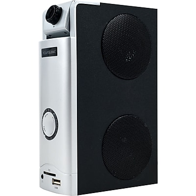 SoundLogic 3 in 1 Webcam Desktop Speaker Great For Skype, 1.3 MP