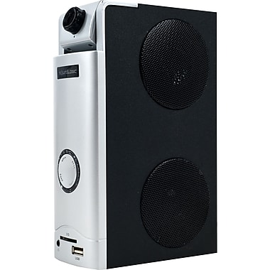 SoundLogic™ 3 in 1 Webcam Desktop Speaker Great For Skype, 1.3 MP