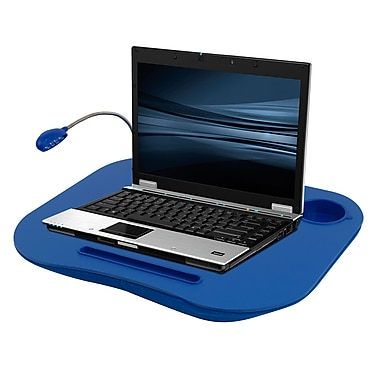 Laptop Buddy™ 72-698006 Mobile Workstation With Light, Blue