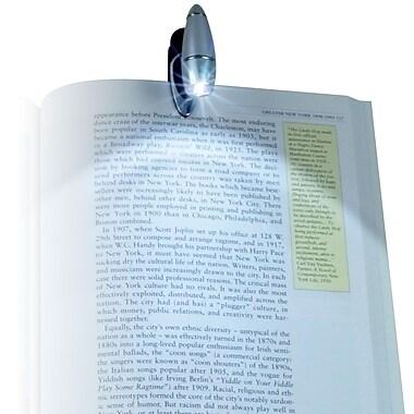 Stalwart™ Brilliant LED Clip-on Light Flashlight