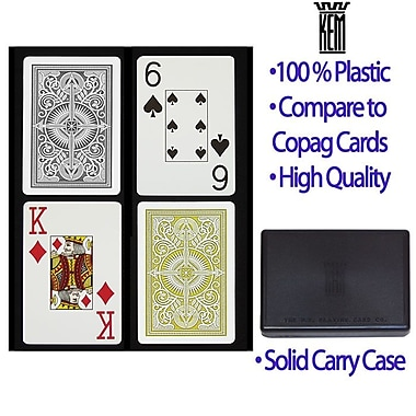 DaVinci Arrow Black and Gold KEM Card, Wide Jumbo