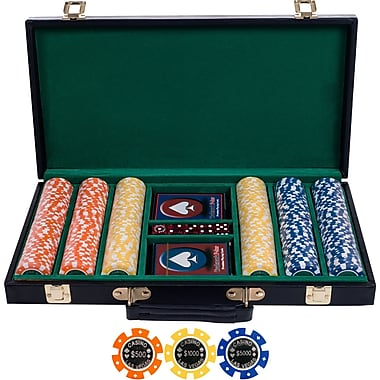 Trademark Poker™ Grand Champion Tournament Coin Poker Chip Set