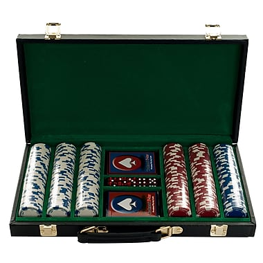 Trademark Poker™ 300 Royal Suited Chips With Vinyl Case