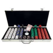 Trademark Poker™ 650 Pro Clay Casino Chips With Aluminum Case