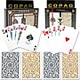 Copag Poker & Bridge Regular Index Card, Black/Gold