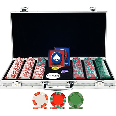 Trademark Poker™ 300 NexGen™ PRO Classic Poker Chips With Aluminum Case