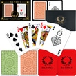 DaVinci Casino Club Playing Card, Poker Size Regular Index