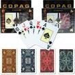 Copag Bridge Size Jumbo Index Card, Gold Line Script & Aldrava