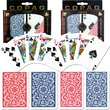 Copag Poker & Bridge Regular Index Card, Blue/Red