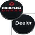 Copag USA Delaer Button, Black